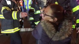 Firefighters Rescue Dog From Manhattan Apartment Fire
