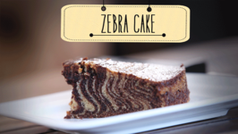 Zebra Cake  Eggless Dessert Cake Recipe  Beat Batter Bake With Priyanka