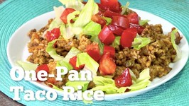 One Pan Taco Rice