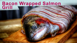 Bacon Wrapped Salmon - Grill - And BBQ