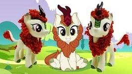 Autumn Blaze Kirin Custom My Little Pony from MLP Sounds of Silence