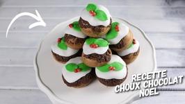Recette Noel Pièce Montée Choux Au Chocolat