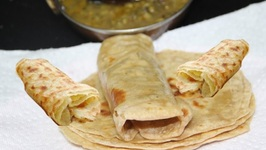 Atta Laccha Chapati -Pad Wali Roti