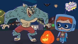 Its Halloween Night - Scary Rhymes -  Videos Bottle Squad - Halloween Rhymes - Superhero Songs