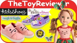 Wellie Wishers Willa Doll KidsShoes.com Kids Shoes American Girl Unboxing Toy Review