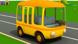 Nursery Rhymes Wheels on the Bus - Songs for Kids and Baby Songs