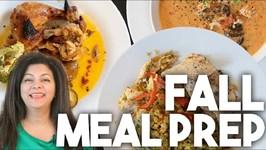 Fall Meal Prep - Food Planning - Kravings