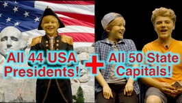 Casey Simpson Recites All 44 Presidents And 50 State Capitals Of The United States Of America