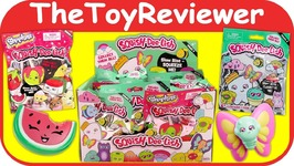 Full Case Squish-Dee-Lish Series 2 Shopkins 1 Blind Bags Squishy Unboxing Toy Review