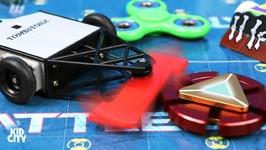 Fidget Spinners Vs Battlebots  Rare Superhero Spinner Game For Kids