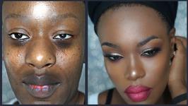 Dark Skin Smashbox Makeover