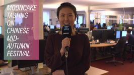 The Zoomin.TV Office Tries Chinese Mooncakes