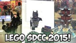 LEGO SDCC 2015 Recap Batman v Superman, Ninjago, and more