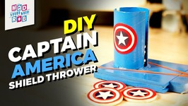 DIY Captain America Shield Thrower