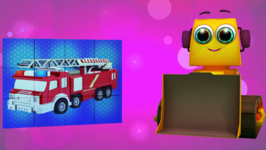 Fire Truck - Kids' Learning Puzzles