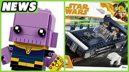 Han Solo Images and Infinity War BrickHeadz - Brick Show News