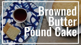 Brown Butter (Half) Pound Cake