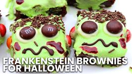 How To Make Frankenstein Brownies for Halloween