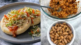 Ready In Minutes - A Perfect Idea For Lunch Dinner - Beans Cheese Pupas