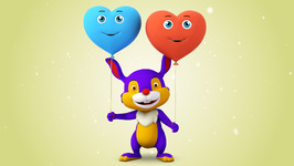 Shape Heart  Original Colors and Shapes Song for Children