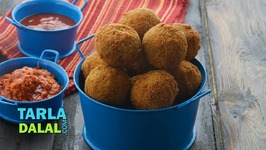 Fried Vegetable Balls - Starter Recipe
