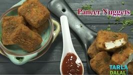 Paneer Nuggets - Quick Paneer Deep-Fried Snack