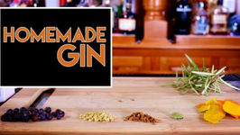 Homemade Gin / DIY In 5 Minutes With Rapid Infusion