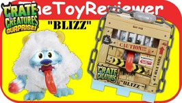 Blizz - Crate Creatures Surprise Action Figure Free Beast Yeti Unboxing Toy