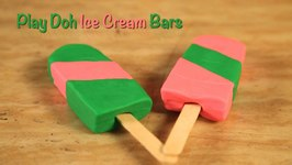 Play Doh - Kids Learning - Childrens Fun Playing - Ice Cream Bars
