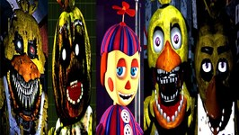 Five Nights at Freddy's 4, 3, 2, 1 Chica Simulator Android