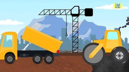 Construction Vehicles - Trucks - Construction Site