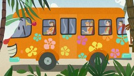 Wheels On The Bus - Kindergarten Nursery Rhymes For Toddlers - Cartoon Video For Children