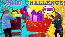50 BIRTHDAY SHOPPING CHALLENGE!