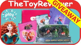 Merida Pley Subscription Box Disney Princesses Brave Giveaway Unboxing Toy Review
