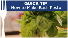 How To Make Basil Pesto - Quick Tips