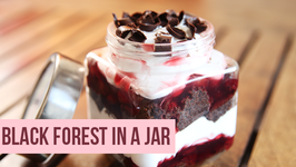 Black Forest In A Jar  Easy DIY Dessert Recipe  Beat Batter Bake With Priyanka