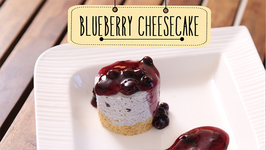Blueberry Cheesecake  Eggless Dessert Cake Recipe  Beat Batter Bake With Priyanka