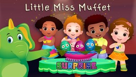 ChuChu TV Surprise Eggs Nursery Rhymes Toys - Little Miss Muffet - Learn Colours and Objects