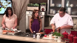 Chef Tony Clark - Bronzino With Carrot Vinchy