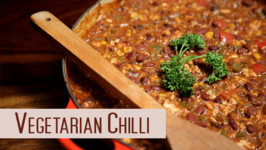 Vegetarian Chilli  Easy To Make Vegan Recipe  Divine Taste With Anushruti