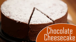 Chocolate Cheesecake / No Bake Cake Recipe / Divine Taste With Anushruti