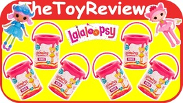 Lalaloopsy Mini Mystery Paint Cans Series 1 Blind Bags NEW Unboxing Toy Review