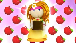 Make an Apple Pie with Bianca the Doll- A Baby Cartoon