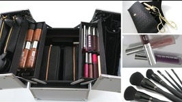 Make-Up Collection Storage Organization Ideas  For The Make-Up Minimalist