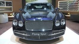 Bentley Mulliner Flying Spur at 2018 Geneva Motor Show