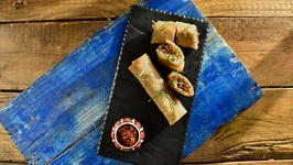 Veg Cheese Spring Roll - How To Make Cheese Spring Rolls