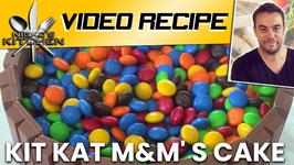 Kit Kat M And M' s Cake