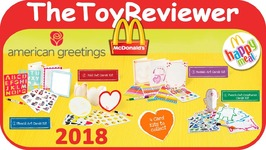 2018 american greetings cards happy meal mcdonalds complete set 4 2018 american greetings cards happy meal mcd m4hsunfo