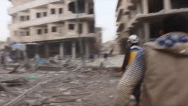 White Helmets Search For Survivors Among Debris After Reported Strike on Idlib Hospital