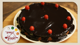 Eggless Chocolate Cake  Valentine's Special  Easy To Make Cake At Home  Recipe by Archana
